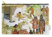 Home In Peru, Circa Ad 100 Carry-all Pouch