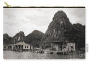 Homes On Ha Long Bay Boat People  Carry-all Pouch