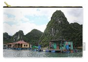 Homes On Ha Long Bay Gulf Of Tonkin  Carry-all Pouch