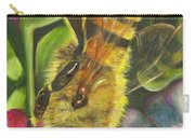 Honey Bee On Mexican Heather Carry-all Pouch