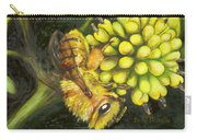 Honey Bee On Wild Golden Glow Carry-all Pouch