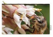 Honeybee Nectar Search Carry-all Pouch by Brian Hale