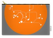 Hong Kong Orange Subway Map Carry-all Pouch