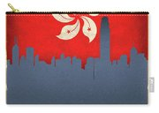 Hong Kong World City Flag Skyline Carry-all Pouch