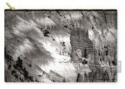 Hoodoo's Black White Utah  Carry-all Pouch