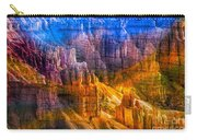 Hoodoo's Rainbow Color Mix Bryce Canyon  Carry-all Pouch
