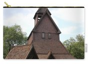 Hopperstad Stave Church Replica Carry-all Pouch