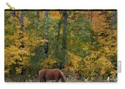 Horse In Fall Carry-all Pouch