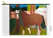 Horse On A Ranch Carry-all Pouch