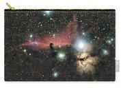 Horsehead And Flame Nebulae Carry-all Pouch