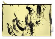 Horsemen On Yellow Carry-all Pouch