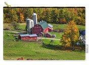 Horses Grazing In Autumn Carry-all Pouch