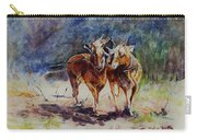Horses On Work Carry-all Pouch