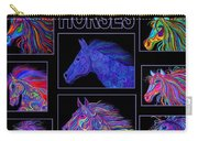 Horses Poster Carry-all Pouch