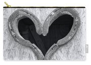 Horseshoe Heart Carry-all Pouch