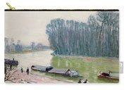 Houseboats On The River Loing Carry-all Pouch