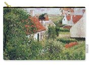 Houses At Knocke, Belgium, 1894 Carry-all Pouch
