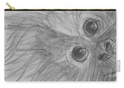 How's It Hangin'? Sketch Carry-all Pouch by Jani Freimann