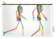 Human Skeleton Pair Carry-all Pouch