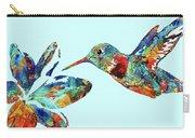 Hummingbird Blue - Sharon Cummings Carry-all Pouch