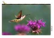 Hummingbird Moving Along Carry-all Pouch