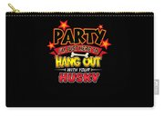 Husky Dog Party Carry-all Pouch