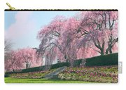 Weeping Spring Cherry  Carry-all Pouch