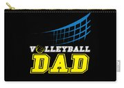 I Love Volleyball Team Player Ball Carry-all Pouch