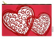 I Love You Hearts Carry-all Pouch