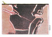 I Was Born In A Mine Woodcut 12 Carry-all Pouch