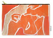 I Was Born In A Mine Woodcut 19 Carry-all Pouch