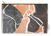 I Was Born In A Mine Woodcut 75 Carry-all Pouch