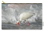Ibis And A Tinted Sea Carry-all Pouch