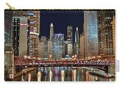 Iconic Night View Down The River Carry-all Pouch