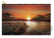 Idwal Lake Sunset Carry-all Pouch