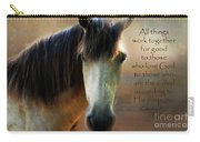 If Horses Could Talk - Verse Carry-all Pouch