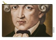 Immanuel Kant, Philosopher, Born In Konigsberg, Germany Carry-all Pouch