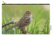 immature White-crowned Sparrow Carry-all Pouch