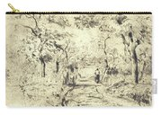 In The Fields At Ennery, 1875 Carry-all Pouch