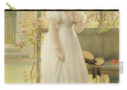 In The Walled Garden, 1869 Carry-all Pouch