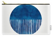 Indigo Moon- Art By Linda Woods Carry-all Pouch