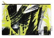 Industrial Abstract Painting II Carry-all Pouch