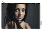 Innocent Young Woman Carry-all Pouch