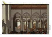 Interior Of The Oude Kerk  Amsterdam  Carry-all Pouch