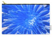 Inverse Flower Art Carry-all Pouch