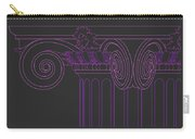 Ionic Capital Diagonal View Cropped 1 Carry-all Pouch
