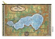 Iowa Clear Lake Custom Map Custom Map Art Carry-all Pouch