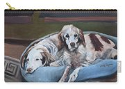 Irish Red And White Setters - Archer Dogs Carry-all Pouch