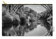 Iron Bridge Shropshire  Carry-all Pouch by Adrian Evans