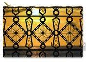Iron Lattice Pattern St Malo Sunset Carry-all Pouch